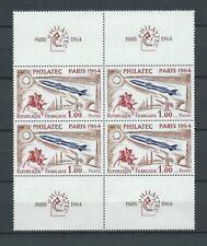 PHILATHEC - 1964 YT 1422 bloc de 4 - TIMBRES NEUFS** MNH LUXE - COTE 120,00 €