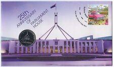 2013 UNC 20c 25th Anv of Australian Parliament House PNC