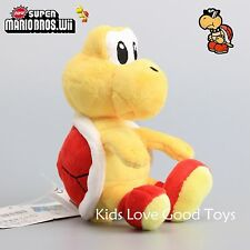 Red Koopa Troopa New Super Mario Bros. Turtle Plush Doll Soft Stuffed Toy 6''
