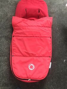 Bugaboo Red Cosytoes/ Footmuff