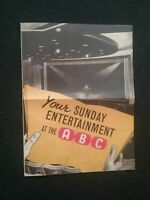 OLD BEATLES CONCERT PROGRAMME GREAT YARMOUTH , REPRODUCTION , NEW CONDITION