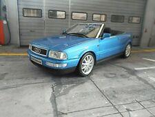 AUDI 80 Typ89 B3 Cabrio Cabriolet blue blau met 1998 Resin Otto model NEU 1:18