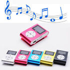 Mini Lettore MP3 Player Clip USB FM Radio LCD Screen Supporta 32GB Micro SD Rosa