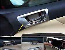 4Pcs Chrome Interior Door Handle Frame cover trim For Toyota Camry 2014 2015