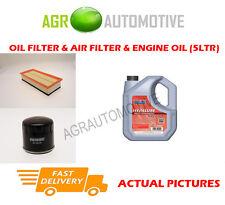 Filtro Aria Olio Benzina Kit + FS 5w40 OLIO PER ALFA ROMEO 147 1.6 105 CV 2001-10