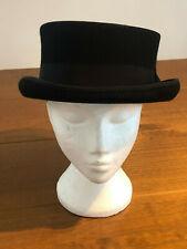 Euro Accessories - Black Junior Top Hat - Steampunk Headwear - Victorian VGVC XL