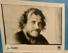 Joe Cocker 8x10 glossy promotional photo 1970's