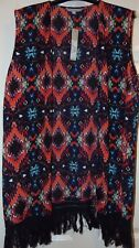 Red Herring, Ladies 'Aztec Tassled' Top, Size 10, BNWT, Grab a Bargain!