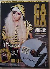 "Lady Gaga. Revista+ DVD Imported China.RARE. Magazine.Flyer Fragrance ""The Fame"""