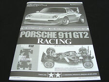 Tamiya 84399 TA02SW Porsche 911 GT2 Original Manual Catalog Taisan Starcard NEW!