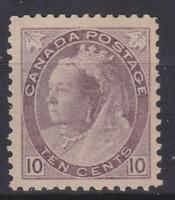 "Canada 1898 #83 Queen Victoria ""Numeral"" Issue MH F/VF"