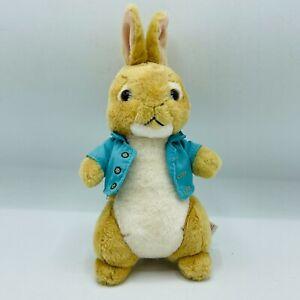 2018 Ty Peter Rabbit Movie Cotton Tail Plush Brown Stuffed Animal