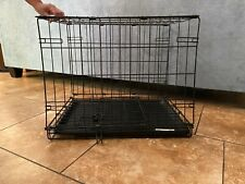 """Dog Crate small, 27""""L x 18""""W x 19""""H, for doggies 12-25 pounds"""