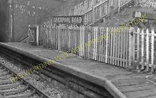 Liverpool Road Railway Station Photo. Brampton- Knutton. Stoke to Silverdale (2)