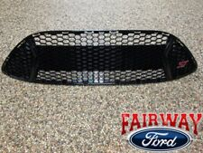 13 thru 14 Focus ST OEM Genuine Ford Parts Gloss Black Grill Grille w/ ST Emblem