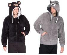 Mens Wolf or Gorilla Super Soft Lounge Top / Hoodie / Hoody