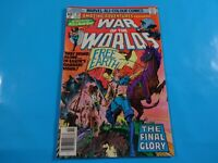 War of the worlds  #39 marvel  comics Comic book