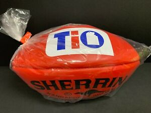 AFL SHERRIN KANGAROO BRAND RED OFFICIAL LEATHER GAME FOOTBALL TIO AFLNT