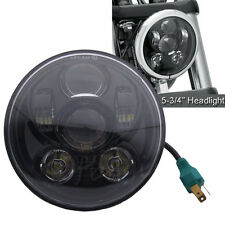 """Universal 5.75"""" 5-3/4''Motorcycle LED Bulb Headlight Daymaker Projector DRL Lamb"""