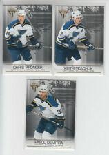 03/04 Pacific Titanium St. Louis Blues (3 cards) - Demitra Pronger Tkachuk