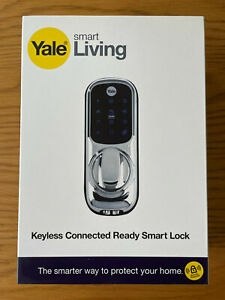 Yale Smart Living Keyless Connected Smart Door Lock YD-01-CON-NOMOD-CH * NEW * S