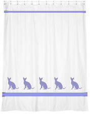 Cornish Rex Cat Shower Curtain *Our Original* Your Choice of Colors