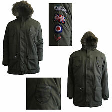 Lambretta Polyester Long Coats & Jackets for Men