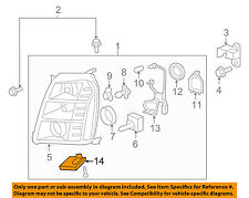 GM OEM-Hid Headlamp Components 15782392