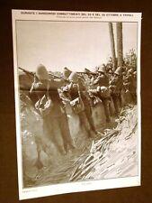 Spedizione Italia Tripolitania Libia nel 1911 Tripoli Trincee e sentinelle
