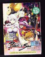 *NEW* BLADE AND SOUL *13 EPISODES*ENGLISH SUBTITLES*ANIME DVD*USA SELLER*