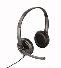Logitech Premium Stereo USB Headset 350 Schwarz/Anthrazit Kopfbügel
