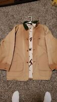 Vintage LL Bean Freeport Maine Barn Coat Jacket XL Faded And Distressed 27.5x34