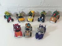 Teenage Mutant Ninja Turtles tmnt T-Machines Bundle X8 toy car vehicles 2014