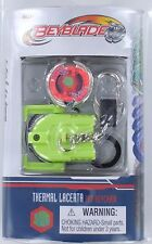 Beyblade THERMAL LACERTA Top Keychain Keyring Launcher Ripcord NEW S5 1942 Mini
