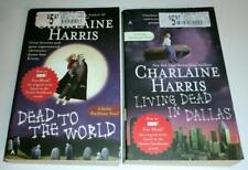 Lot of (2) PB's by CHARLAINE HARRIS: Dead to the World & Living Dead in Dallas