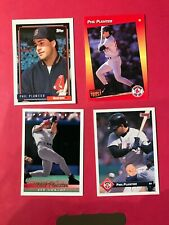4 Card  Phil Plantier Baseball Card Lot  - Boston Red Sox