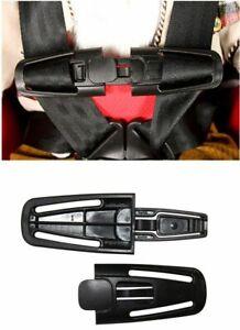Car Baby Safety Seat Strap Belt Lock Tite Harness Chest Clip Buckle 14.5cm x 4cm