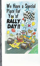 We Have A Special  Place For You At Rally Day   Unused Postcard 8274
