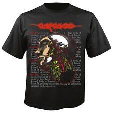 Carcass 'Cadáver' camiseta-Nuevo Oficial Heartwork Necroticism Swansong huelen
