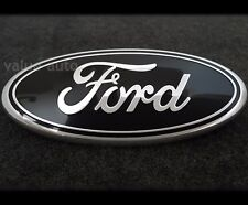 Black 2004-2014 Ford F150 FRONT GRILL TAILGATE Oval Emblem Badge Decal Nameplate
