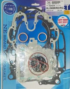 Honda 85-87 XL250R 91-96 XR250L 85-95 XR250R Complete Engine Gasket Kit Set