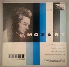 Mozart: Sonata K. 533 & Other Piano Works/Badura-Skoda/WESTMINSTER XWN 18564 EX