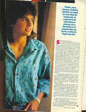 TENNIS GABRIELA SABATINI Magazine in Sexy Interview 1986