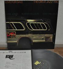 Hank Jones Great Jazz Trio Love For Sale Japan LP 1976 East Wind 20PJ-6 Insert