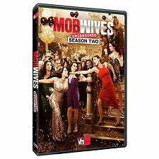 Mob Wives UNCENSORED ~ Complete 2nd Second Season 2 Two ~ NEW 5-DISC DVD SET