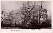 Putney. St Stephen's Church, Upper Richmond Road by R. Andrews.