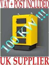 WBI 100KW Mutli Fuel boiler Fans wood coal log peat garden waste get hot water