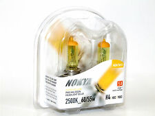 Nokya 2500K 60/55w Hyper Yellow H4/HB2 Halogen Headlight High/Low Beam Bulbs A