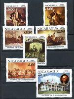 NICARAGUA Yvert # 1200/2 + A 992/5, Complete Set, MNH, VF