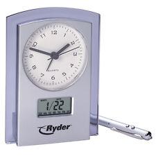 Dual Analog Digital Clock and Calendar.